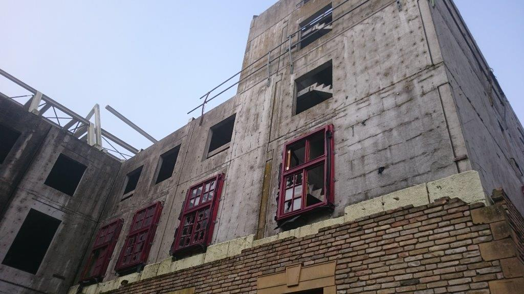 Binnenplaats - trappetjes