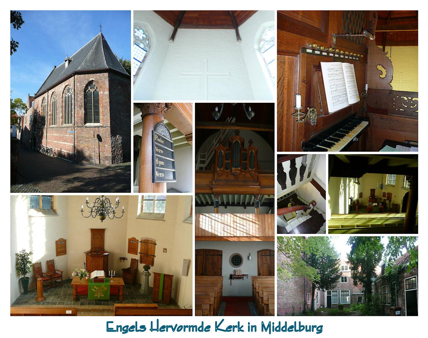 Engelse Kerk in Middelburg